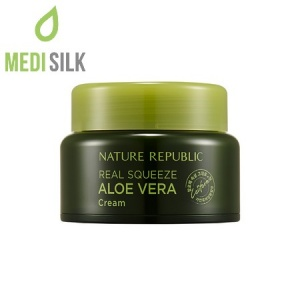 Nature Republic Real Squeeze Aloe Vera Cream