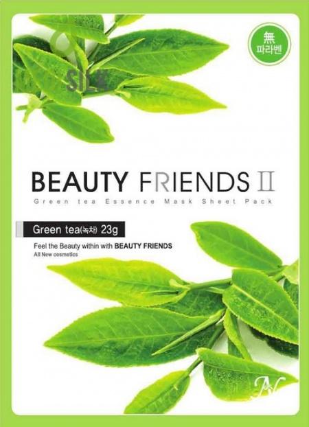 Beauty Friends - Green Tea Face Mask