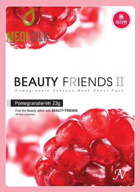 Beauty Friends - Pomegranate Face Mask