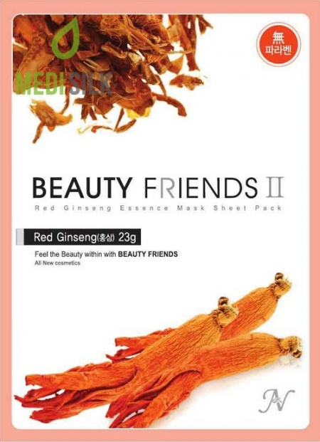 Beauty Friends - Red Ginseng Face Mask