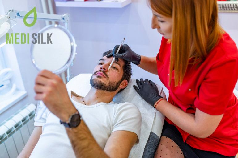 Male patient cosmetics