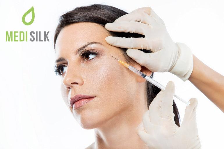 Woman - Botox in cheekbone area